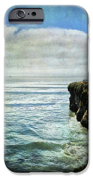 Santa Cruz Ca iPhone Cases - Life Is Bigger iPhone Case by Laurie Search