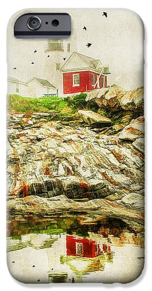 Lighthouse Reflections iPhone Case by Darren Fisher