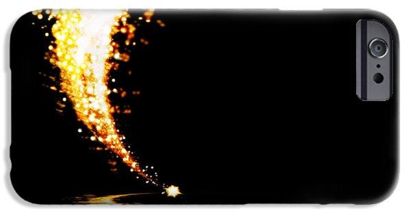 Technology iPhone Cases - Lighting Explosion iPhone Case by Setsiri Silapasuwanchai