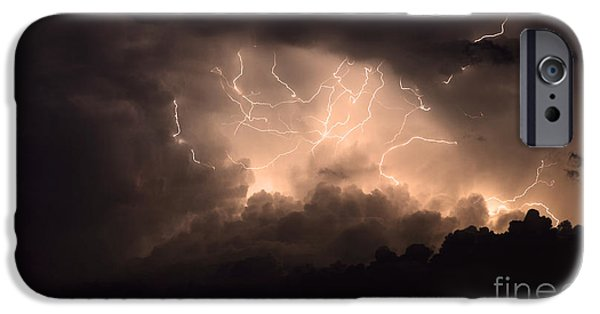 Electrical iPhone Cases - Lightning iPhone Case by Bob Christopher