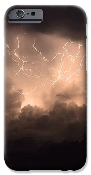 Lightning iPhone Case by Bob Christopher