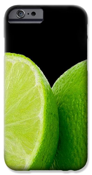 Limes iPhone Case by Cheryl Young