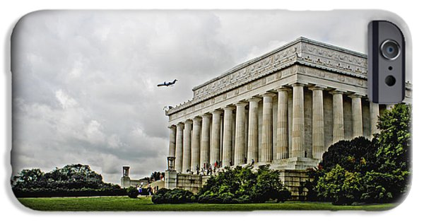 D.c. iPhone Cases - Lincoln Memorial 2012 iPhone Case by Tom Gari Gallery-Three-Photography