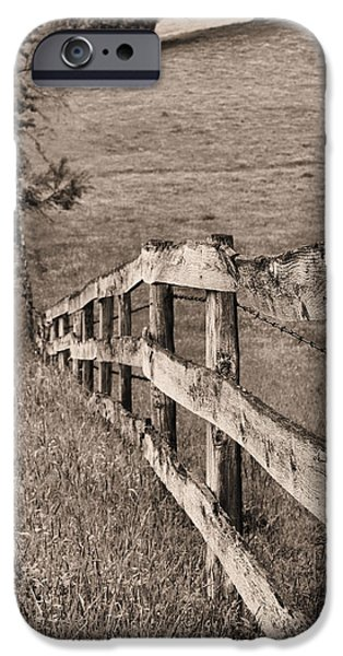 Lines BW iPhone Case by JC Findley