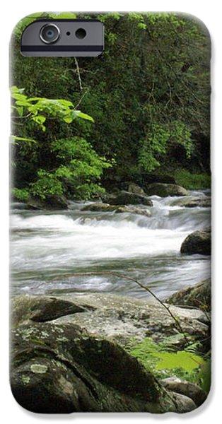 Litltle River 1 iPhone Case by Marty Koch