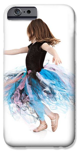 Little Ballerina iPhone Case by Cindy Singleton