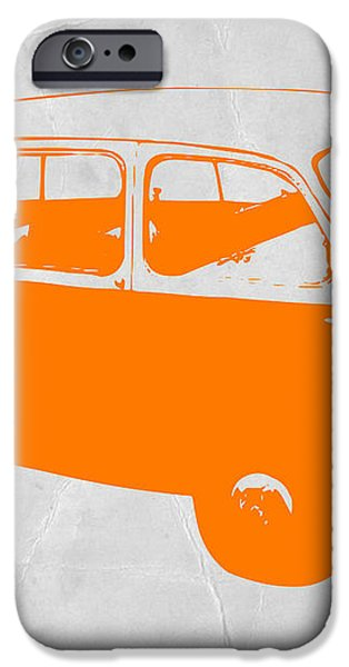 Little bus iPhone Case by Naxart Studio