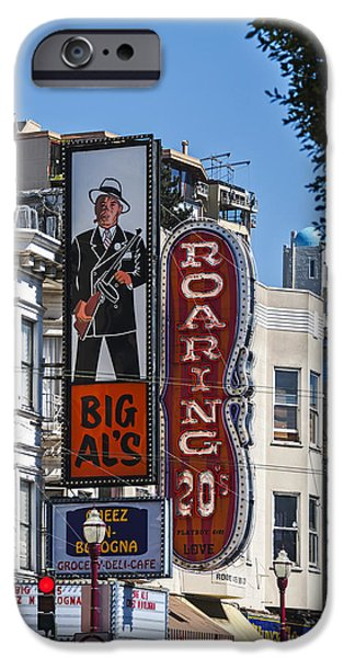 Big Al iPhone Cases - Little Italy  iPhone Case by Anthony Citro