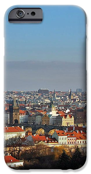 Little Mother Prague iPhone Case by Christine Till