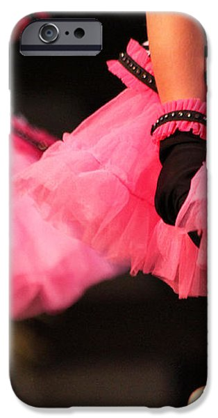 Little Pink Tutus iPhone Case by Lauri Novak