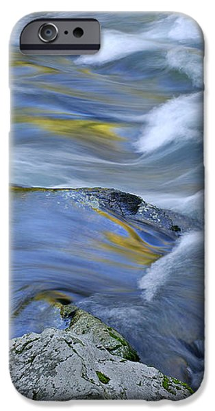 Little River Great Smoky Mountains iPhone Case by Dean Pennala