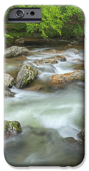 Little River Rapids iPhone Case by Dean Pennala