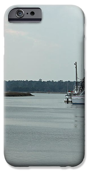 Little River Scenic IV iPhone Case by Suzanne Gaff