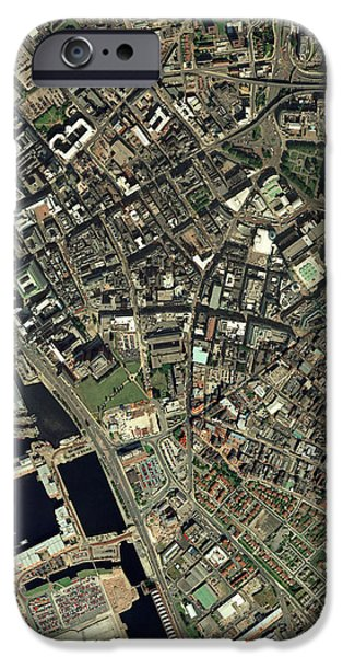 Liverpool, Uk, Aerial Image iPhone Case by Getmapping Plc
