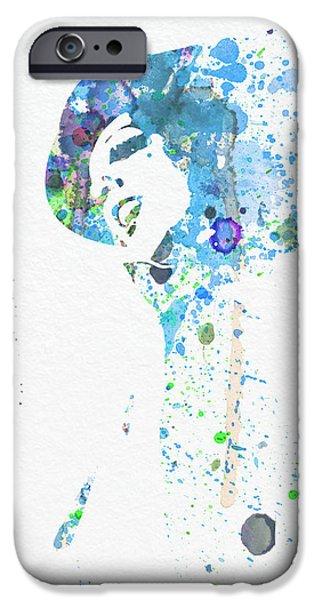 The New York New York iPhone Cases - Liza Minnelli iPhone Case by Naxart Studio