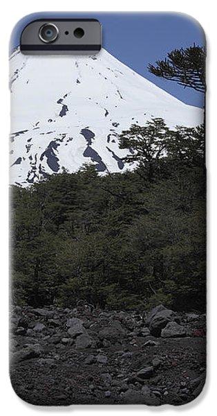 Llaima Volcano, Araucania Region, Chile iPhone Case by Martin Rietze