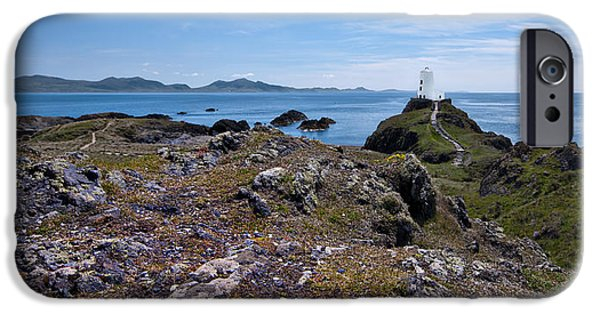 Old And New iPhone Cases - Llanddwyn Island iPhone Case by Meirion Matthias