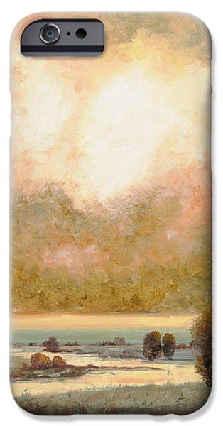 lo stagno sotto al cielo iPhone Case by Guido Borelli