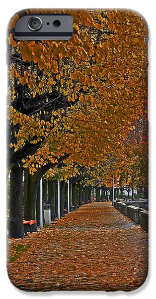 Locarno in autumn iPhone Case by Joana Kruse