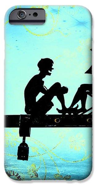 Locks of Love iPhone Case by Evelina Kremsdorf
