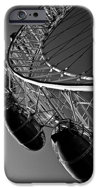 London Eye iPhone Case by David Pyatt