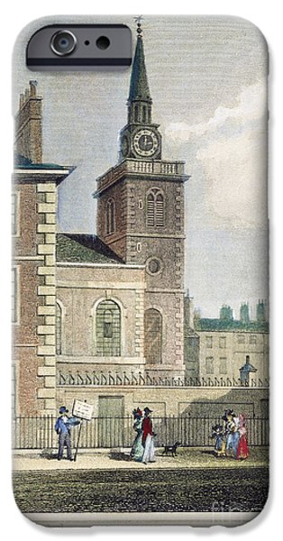 1840 iPhone Cases - London: St. Jamess, 1840 iPhone Case by Granger