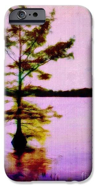Lone Cypress iPhone Case by Judi Bagwell