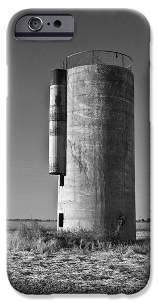 Lonely Silo 6 iPhone Case by Douglas Barnett