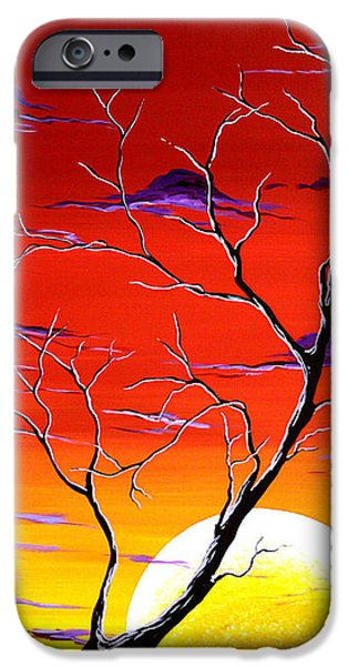 Lonely Soul by MADART iPhone Case by Megan Duncanson