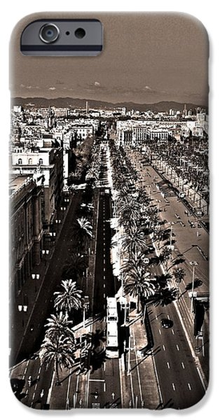 Spanien iPhone Cases - Looking East ... iPhone Case by Juergen Weiss