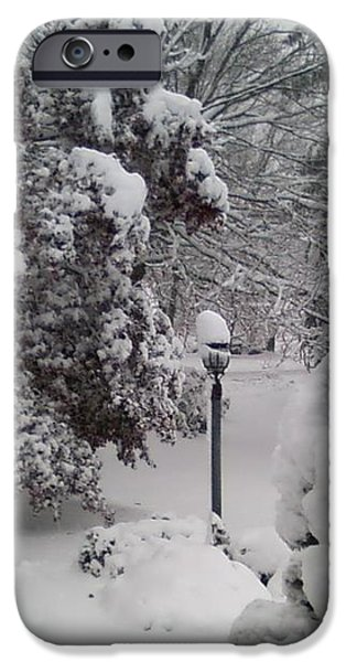 Looking Out My Front Door iPhone Case by Carol Wisniewski