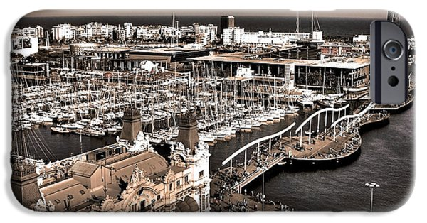 Spanien iPhone Cases - Looking South ... iPhone Case by Juergen Weiss