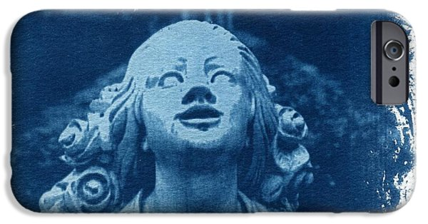 Mourn iPhone Cases - Looking Up iPhone Case by Jane Linders