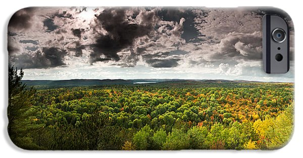 Algonquin iPhone Cases - Lookout Trail iPhone Case by Cale Best