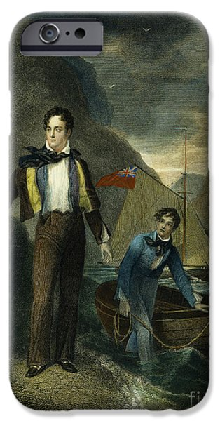 LORD BYRON iPhone Case by Granger