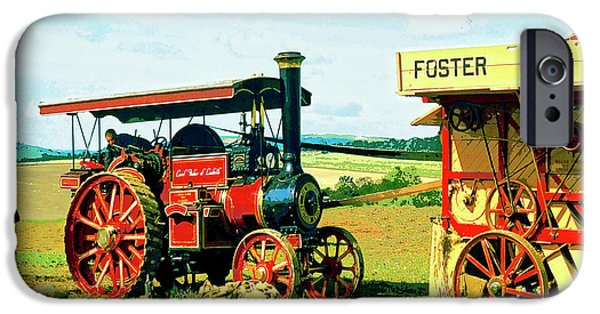 Machinery Mixed Media iPhone Cases - Lord Fisher iPhone Case by Dominic Piperata