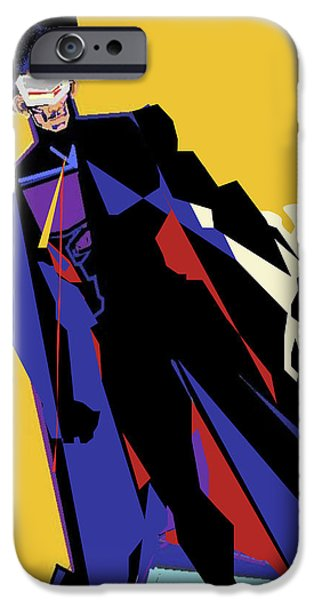 Warn In iPhone Cases - LordConZstable iPhone Case by Derrick Hayes