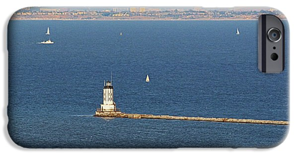 Lightstations iPhone Cases - Los Angeles Harbor Light - Angels Gate - California iPhone Case by Christine Till