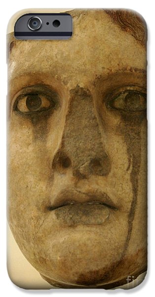Greek Sculpture iPhone Cases - Lost Ages iPhone Case by Bob Christopher