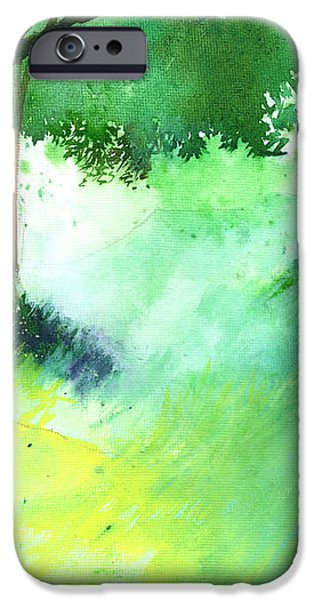Lost in thought iPhone Case by Anil Nene