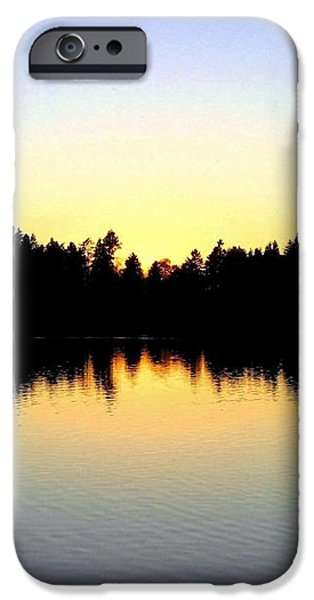 Lost Lagoon Sunset iPhone Case by Will Borden