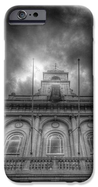 Loughborough Town Hall iPhone Case by Yhun Suarez