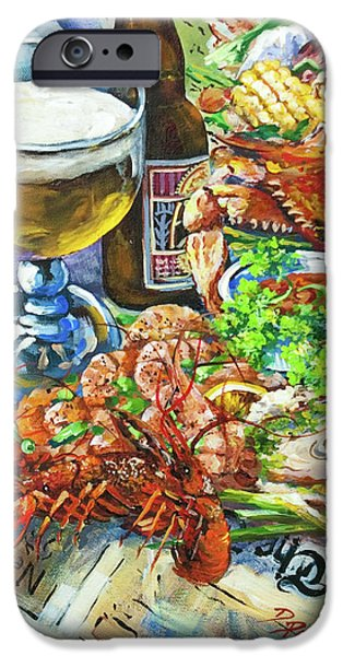 Louisiana 4 Seasons iPhone Case by Dianne Parks