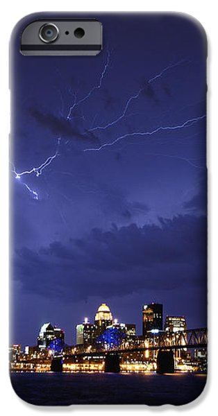 Louisville Storm - D001917b iPhone Case by Daniel Dempster