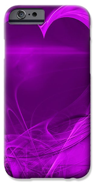 Love . A120423.279 iPhone Case by Wingsdomain Art and Photography