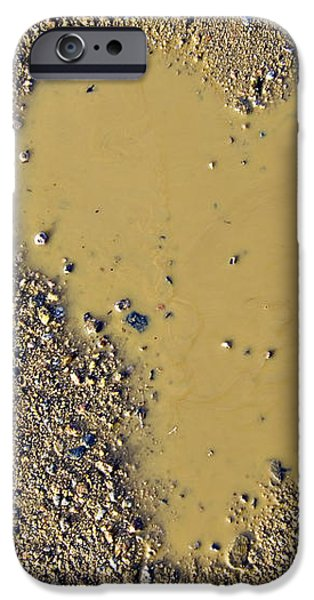 love in a muddy puddle iPhone Case by Meirion Matthias