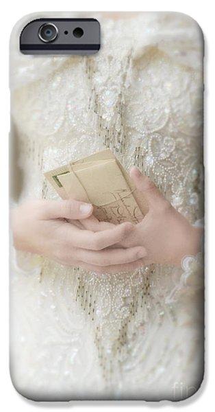 Love Letters iPhone Case by Jill Battaglia