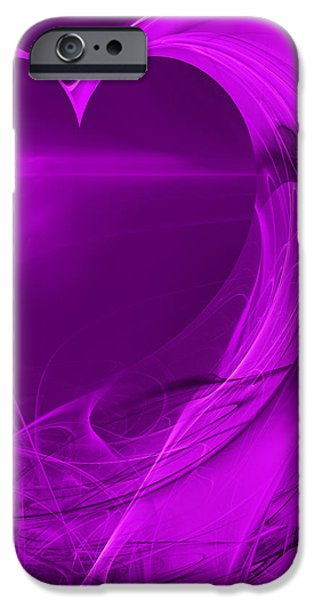 Love . Square . A120423.279 iPhone Case by Wingsdomain Art and Photography