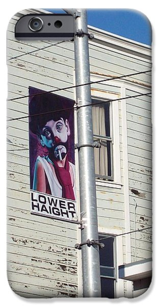 Lower Haight iPhone Case by Jimi Bush