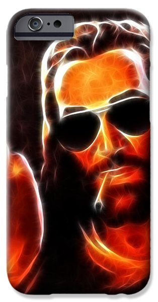 Lucifer This is For You No2 iPhone Case by Pamela Johnson